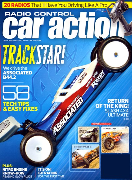 Radio Control Car Action Cover - 4/1/2013