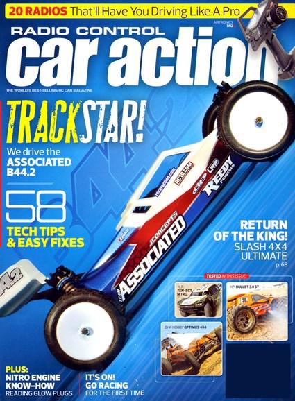 Radio Control Car Action Cover - 4/1/2013