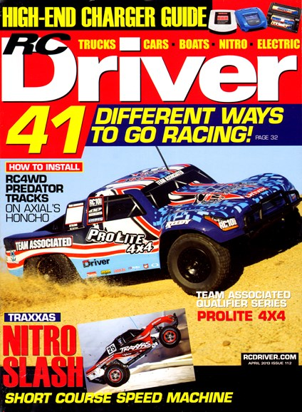 RC Driver Cover - 4/1/2013