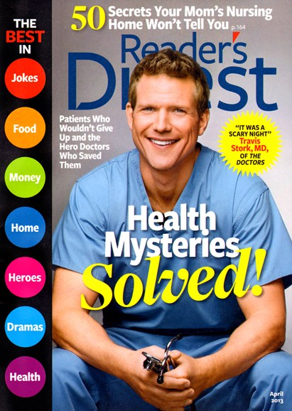 Reader's Digest Cover - 4/1/2013