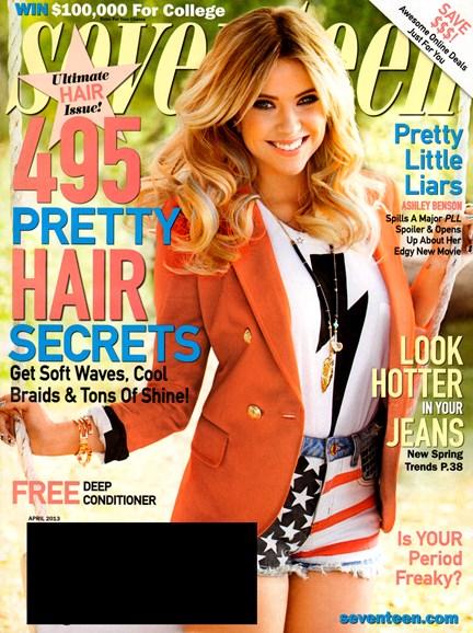 Seventeen Cover - 4/1/2013