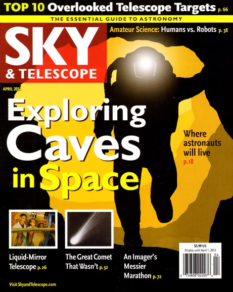 Sky & Telescope Cover - 4/1/2013