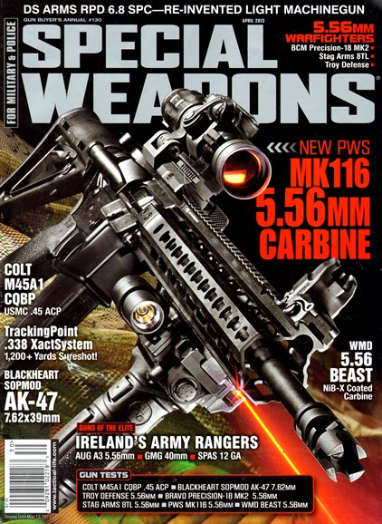 Special Weapons for Military & Police Cover - 4/1/2013