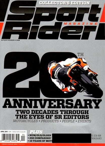 Sport Rider Cover - 4/1/2013