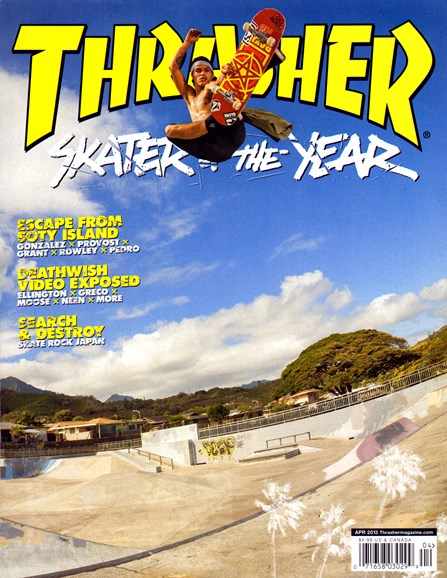 Thrasher Cover - 4/1/2013