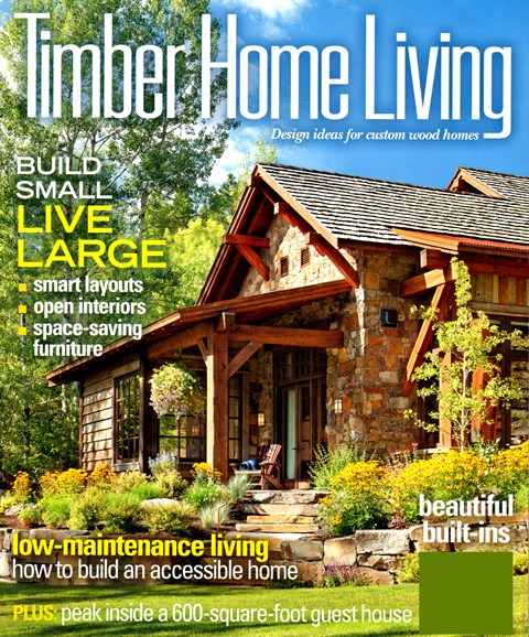Timber Home Living Cover - 4/1/2013