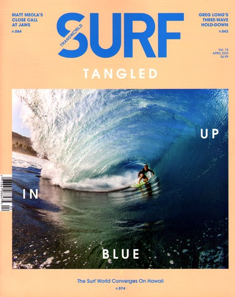 Transworld SURF Cover - 4/1/2013
