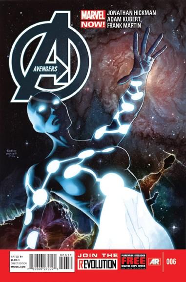Avengers Cover - 4/15/2013