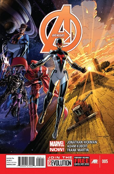 Avengers Cover - 4/1/2013