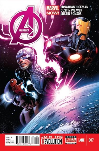 Avengers Cover - 5/1/2013
