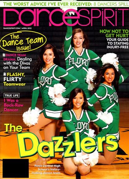Dance Spirit Cover - 4/1/2013