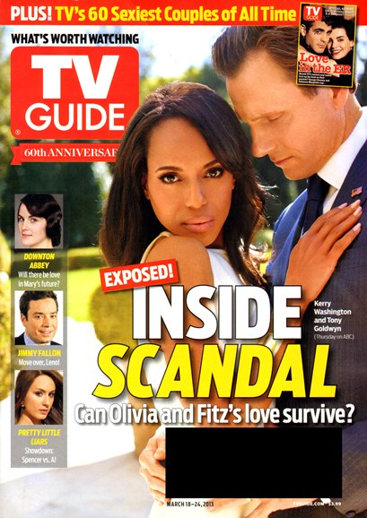 TV Guide Cover - 3/18/2013