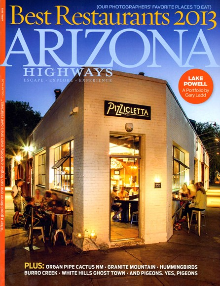 Arizona Highways Cover - 4/1/2013