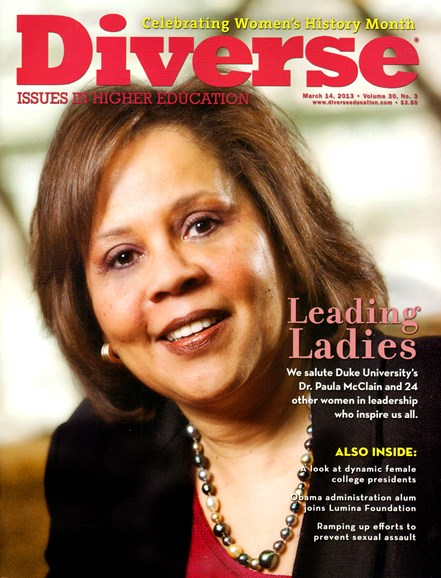 Diverse: Issues In Higher Education Cover - 3/14/2013
