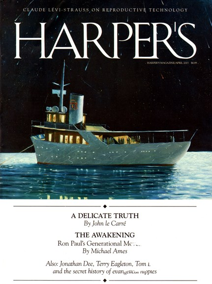 Harper's Cover - 4/1/2013