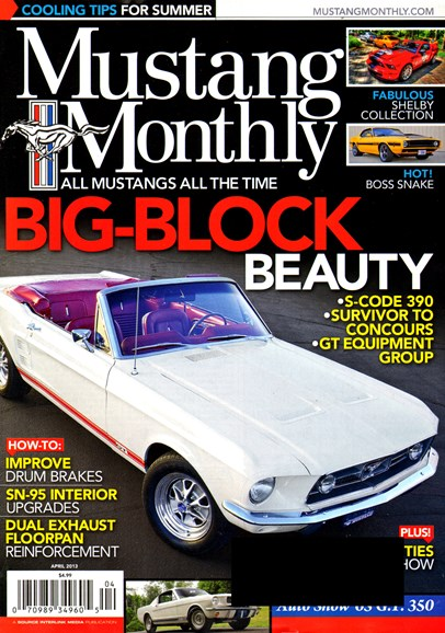 Mustang Monthly Cover - 4/1/2013
