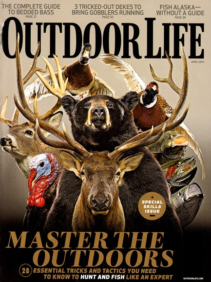 Outdoor Life Cover - 4/1/2013