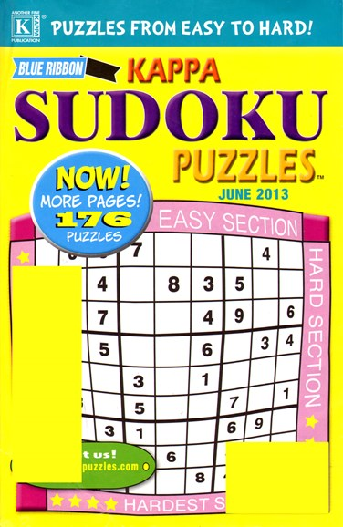 World Of Sudoku Cover - 6/1/2013