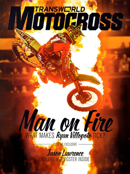 Transworld Motocross Cover - 4/1/2013