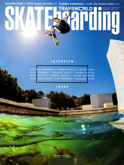 Transworld SKATEboarding Cover - 4/1/2013