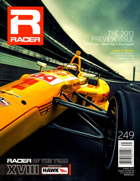 Racer Cover - 3/1/2013
