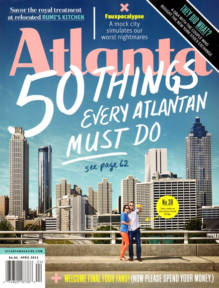 Atlanta Magazine Cover - 4/1/2013