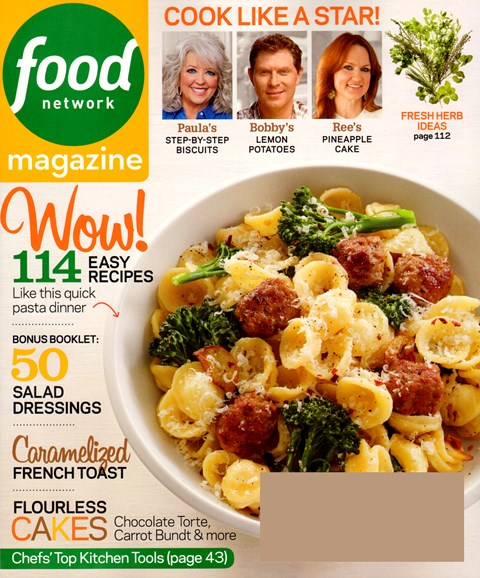 Food Network Cover - 4/1/2013