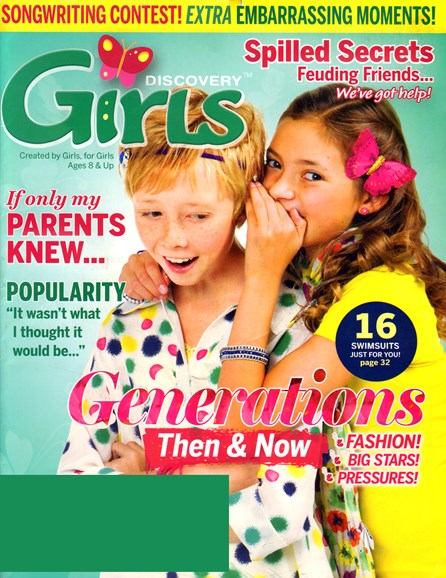 Discovery Girls Cover - 4/1/2013