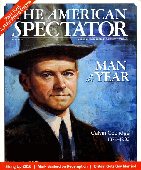 The American Spectator Cover - 4/1/2013