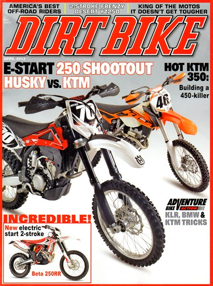 Dirt Bike Cover - 4/1/2013