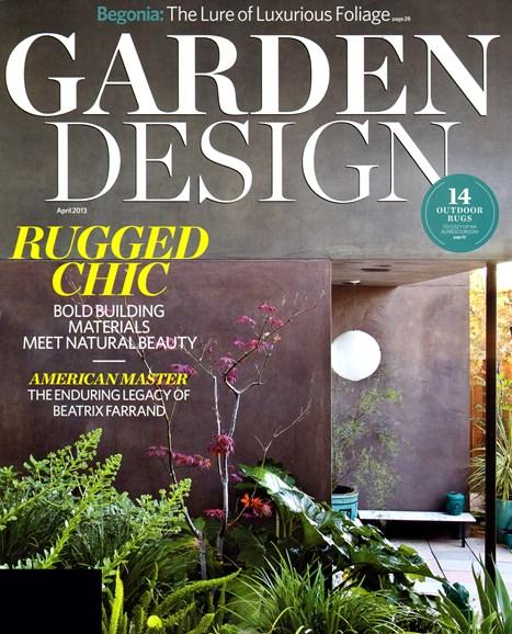 Garden Design Cover - 4/1/2013