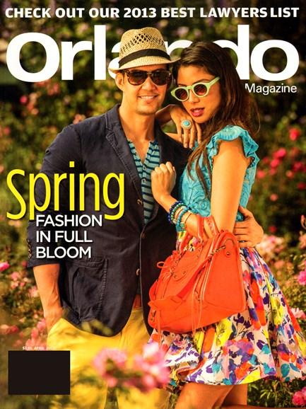 Orlando Magazine Cover - 4/1/2013