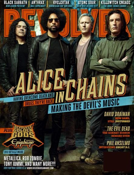 Revolver Cover - 4/1/2013