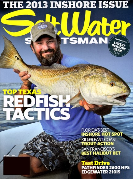 Salt Water Sportsman Cover - 4/1/2013