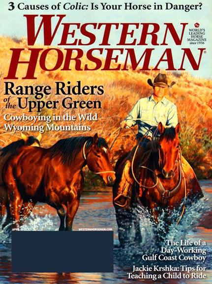 Western Horseman Cover - 4/1/2013