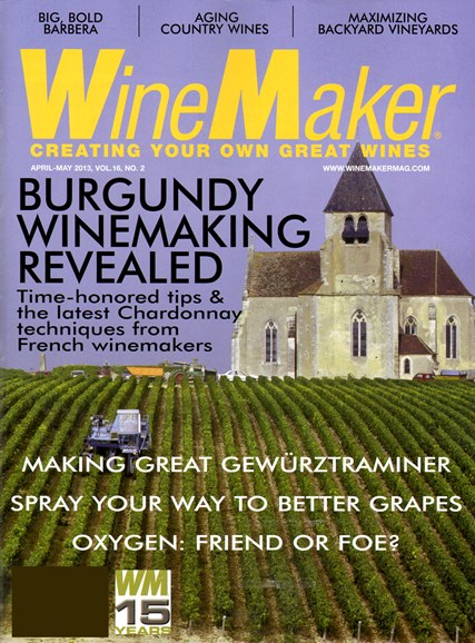 Winemaker Cover - 4/1/2013