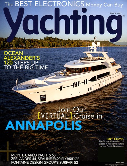 Yachting Cover - 4/1/2013