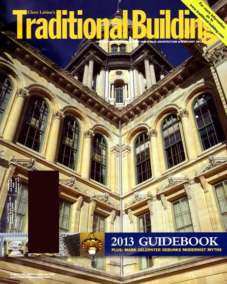 Traditional Building Cover - 2/1/2013