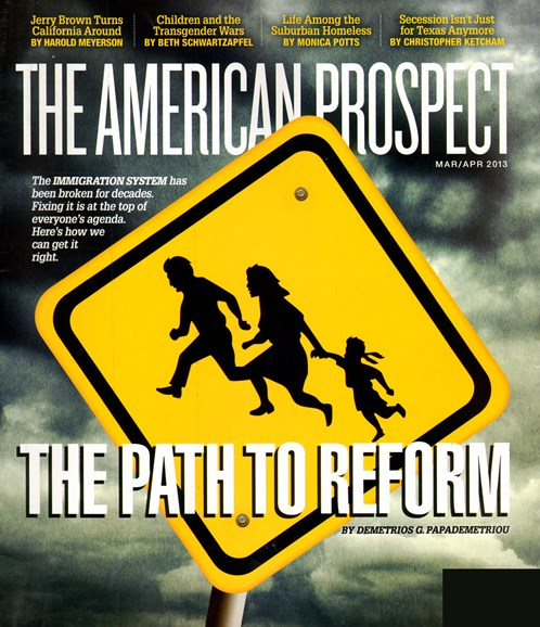 The American Prospect Cover - 3/1/2013