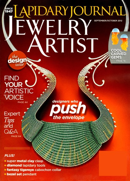 Lapidary Journal Jewelry Artist Cover - 9/1/2012