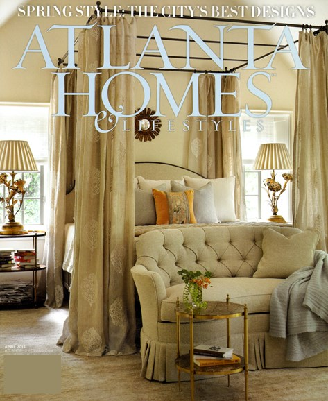 Atlanta Homes & Lifestyles Cover - 4/1/2013