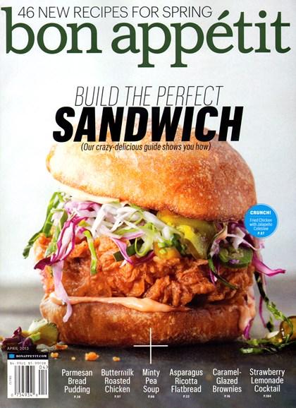 Bon Appétit Cover - 4/1/2013