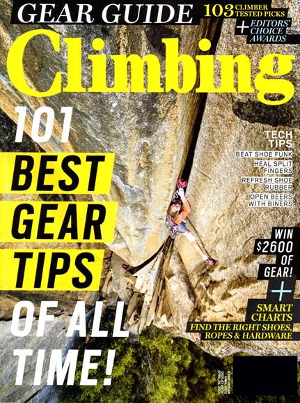 Climbing Magazine Cover - 4/1/2013