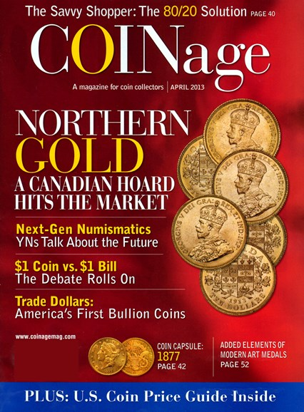 Coinage Cover - 4/1/2013