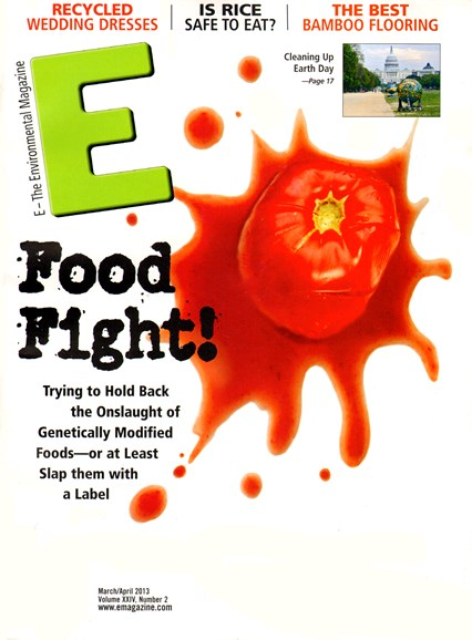 E: The Environment Magazine Cover - 3/1/2013
