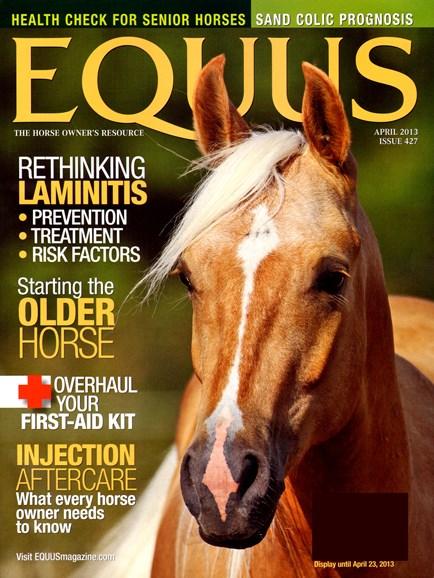 Equus Cover - 4/1/2013