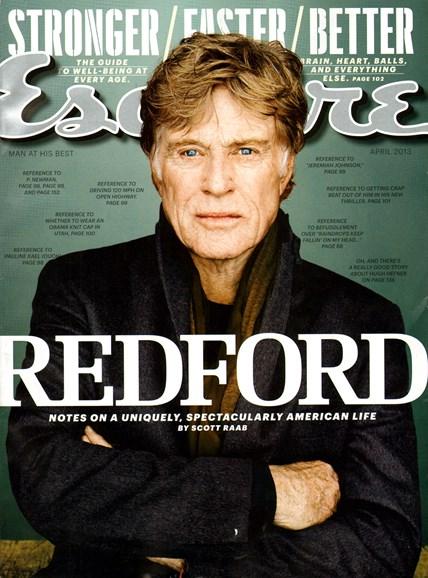 Esquire Cover - 4/1/2013