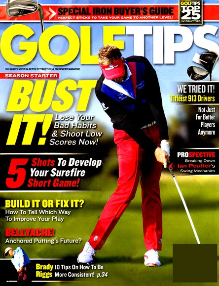 Golf Tips Cover - 4/1/2013