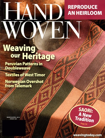 Handwoven Cover - 3/1/2013