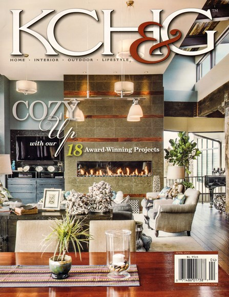 Kansas City Homes & Gardens Cover - 4/1/2013